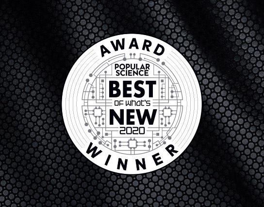 Popular Science 2020 Award badge.