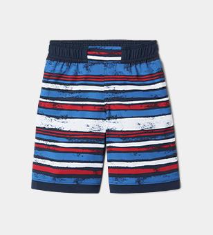 Striped kids shorts.