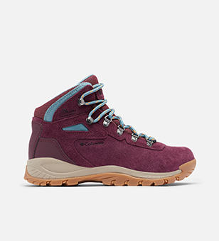Women's purple hiking boot