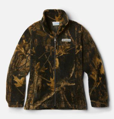 Columbia Boys Zing III Printed Fleece Jacket-