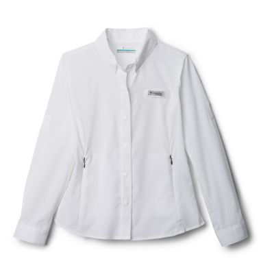 Columbia Girls PFG Tamiami Long Sleeve Shirt-