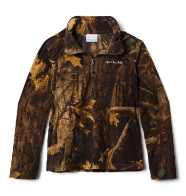 Columbia Boys Glacial III Printed Fleece 1/4 Zip Pullover-