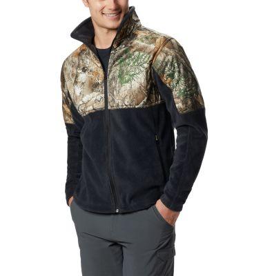 Columbia Men's PHG Fleece Overlay Jacket-