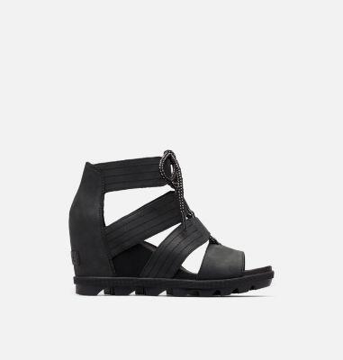 Sorel Womens Joanie II Lace Wedge Sandal-