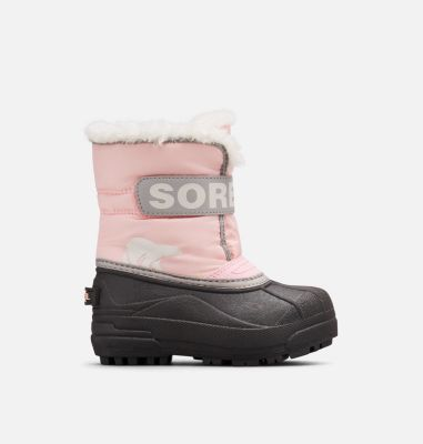 Sorel Childrens Snow Commander Boot-