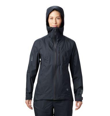 Mountain Hardwear Women's Exposure/2 Gore-Tex Paclite Plus Jacket - L - Black