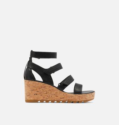 Sorel Womens Cameron Multi Strap Wedge Sandal-