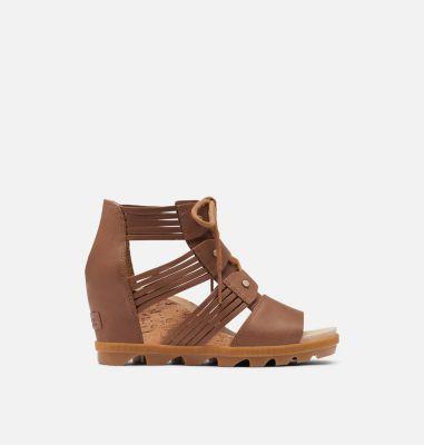 Sorel Womens Joanie II Lace Huarache Wedge Sandal-