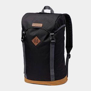 A black backpack.