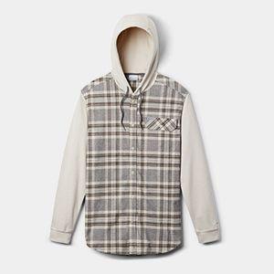 A hooded sweatshirt.