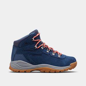 A blue mid-high hiker.
