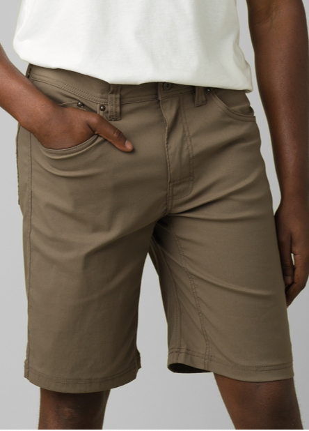 A man wearing, the slim-fit Brion Short.