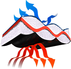 Illustration of insulation tech.