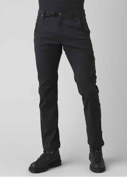 A man wearing, straight-fit Stretch Zion Straight pants.