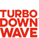 Turbo Down Wave logo