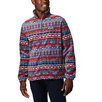 Deals on Columbia Mens Steens Mountain Print Fleece Jacket