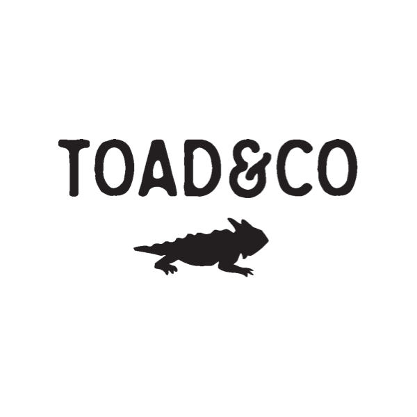 Toad & Co logo.