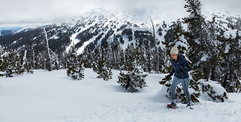 If it's your first snowshoeing, check out these tips to help you make the most of your experience.