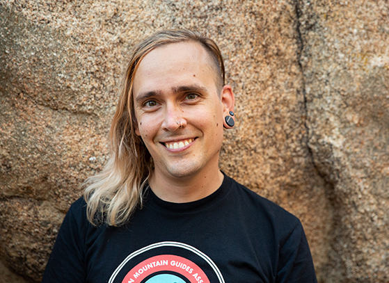 Portrait of Sean Taft-Morales (they/them),
