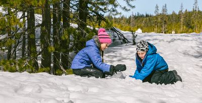 This may sound counterintuitive, but wintertime is actually one of the best seasons to play outside with kids.
