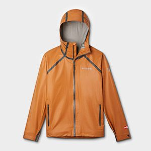 An OutDry rain jacket.