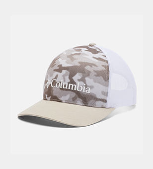 Tan and beige camo hat.