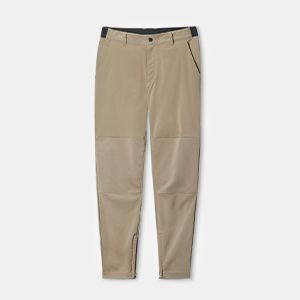 A pair of khaki pants.