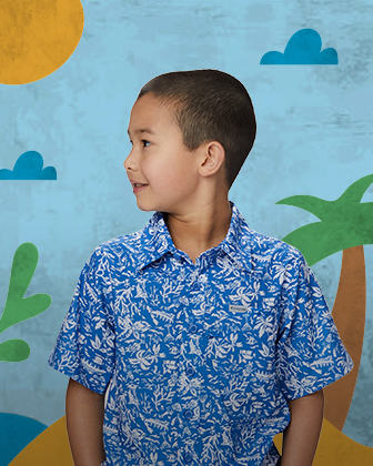 A PFG graphic tee and dress