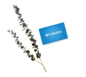 A Columbia Gift Card, flowers.