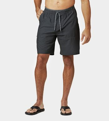A pair of shorts for men.