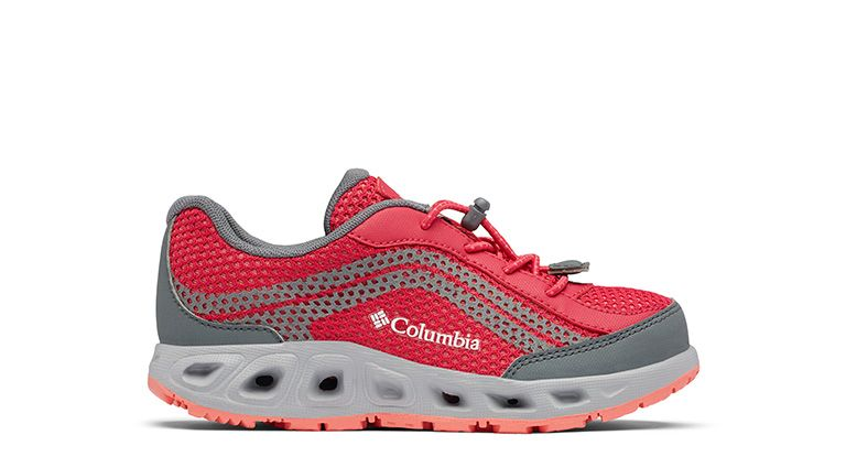 A Drainmaker shoe for kids.