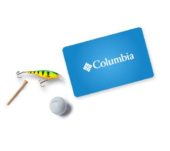 A Columbia Gift Card.