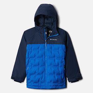 A kids blue jacket.