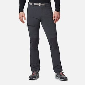 Mens grey hiking pants.