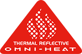 Omni-Heat thermal-reflective logo