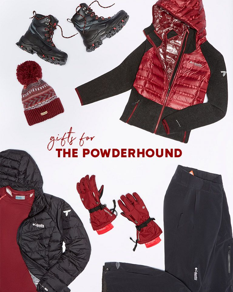 Snow outerwear, boots and accessories.