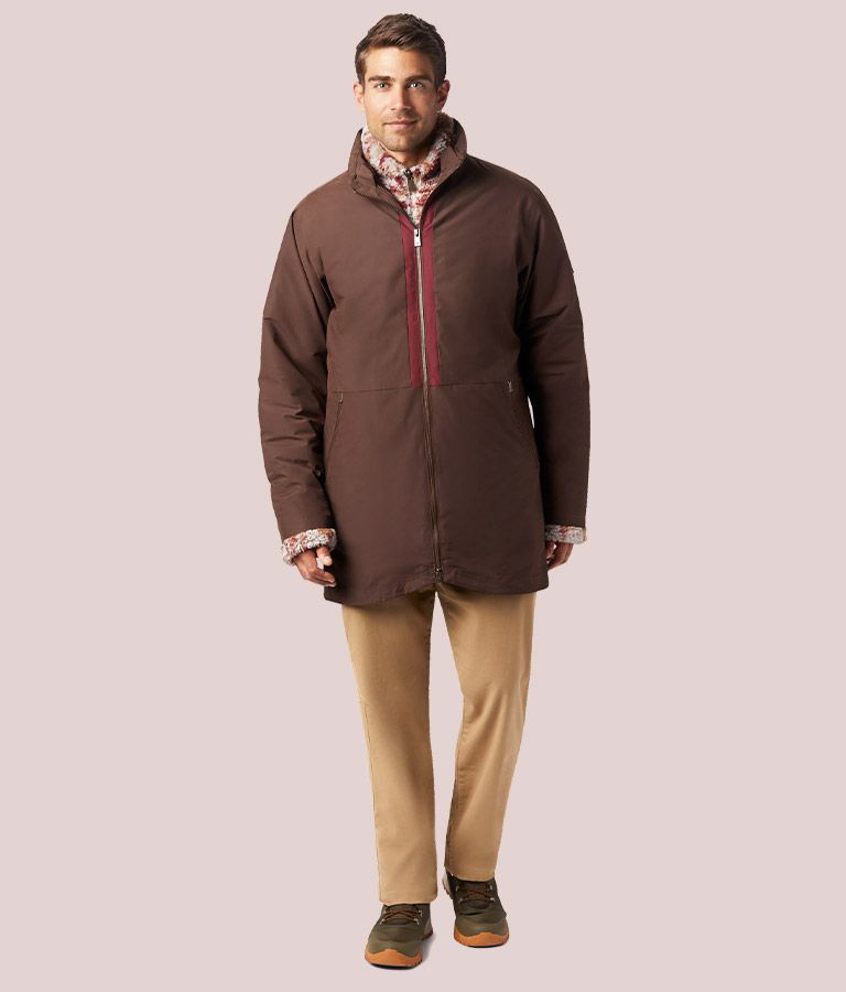 Front view of Mens Kristoff Jacket