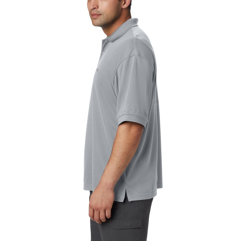 Perfect Cast™ Polo Shirt | 019 | 4X Men's PFG Perfect Cast™ Polo Shirt - Big, Cool Grey, a2