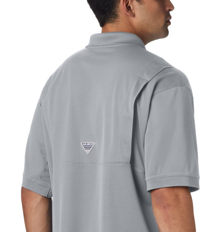 Perfect Cast™ Polo Shirt | 019 | 5X Men's PFG Perfect Cast™ Polo Shirt - Big, Cool Grey, a3