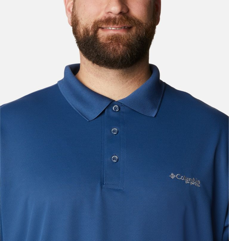 Perfect Cast™ Polo Shirt | 469 | 4X Men's PFG Perfect Cast™ Polo Shirt - Big, Carbon, a2
