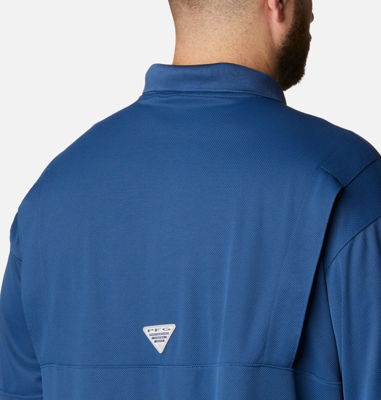 Perfect Cast™ Polo Shirt | 469 | 4X Men's PFG Perfect Cast™ Polo Shirt - Big, Carbon, a3