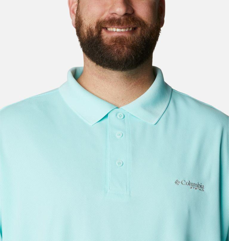 Perfect Cast™ Polo Shirt | 499 | 4X Men's PFG Perfect Cast™ Polo Shirt - Big, Gulf Stream, a2