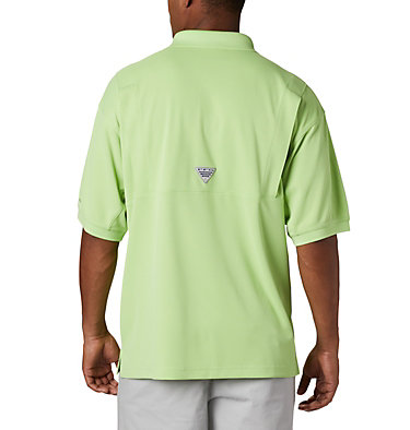 Men's PFG Perfect Cast™ Polo Shirt - Tall Perfect Cast™ Polo Shirt | 010 | LT, Jade Lime, back