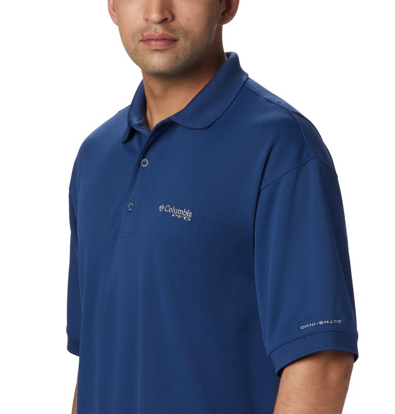 Perfect Cast™ Polo Shirt | 469 | 3XT Men's PFG Perfect Cast™ Polo Shirt - Tall, Carbon, a1