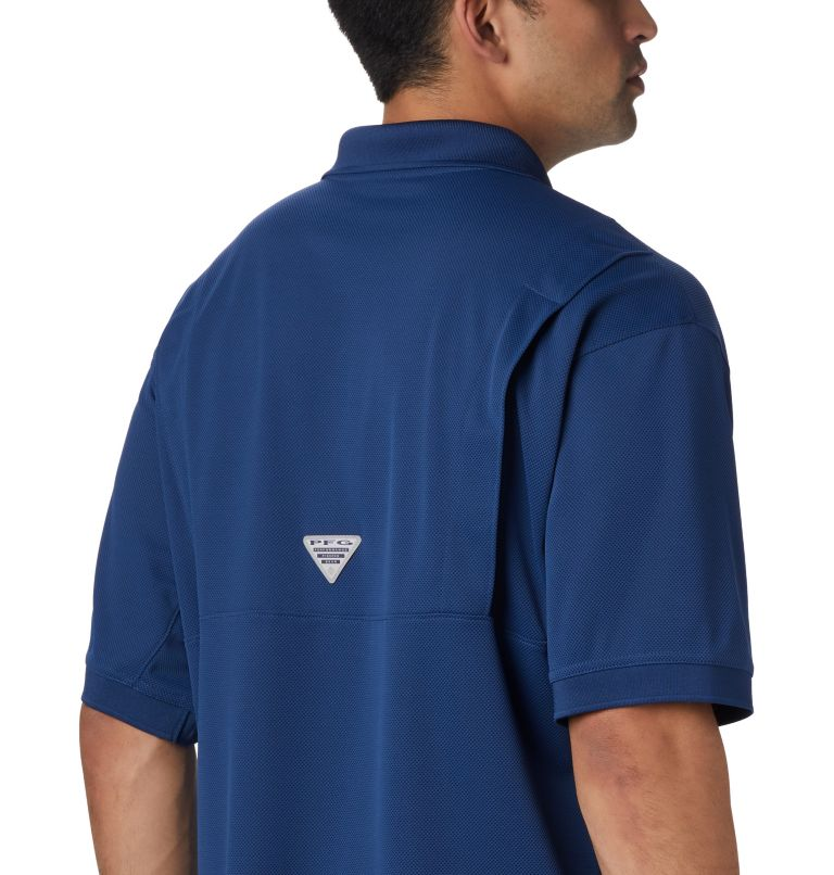 Perfect Cast™ Polo Shirt | 469 | XLT Men's PFG Perfect Cast™ Polo Shirt - Tall, Carbon, a3