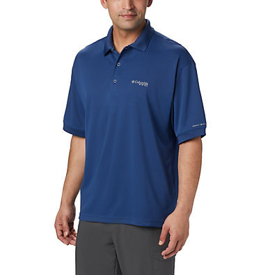 Men's PFG Perfect Cast™ Polo Shirt - Tall Perfect Cast™ Polo Shirt | 469 | 5XT, Carbon, front