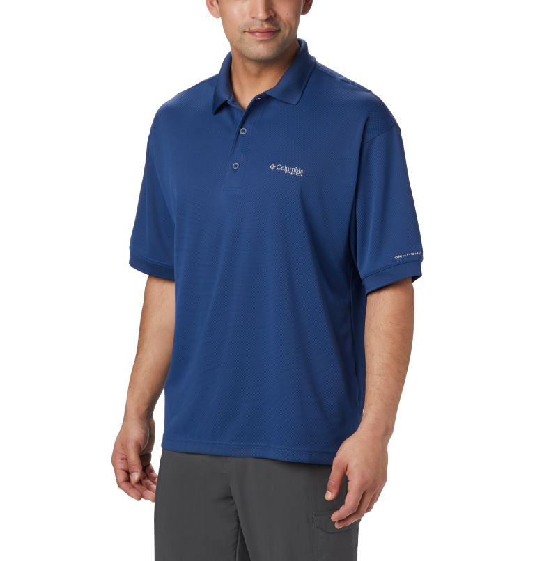 Perfect Cast™ Polo Shirt | 469 | 3XT Men's PFG Perfect Cast™ Polo Shirt - Tall, Carbon, front