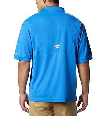 Men's PFG Perfect Cast™ Polo Shirt - Tall Perfect Cast™ Polo Shirt | 469 | 5XT, Vivid Blue, back