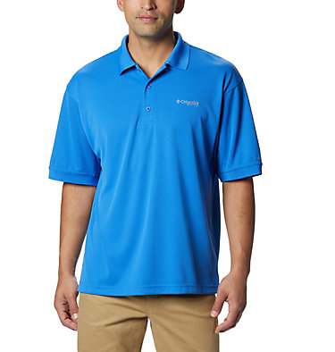 Men's PFG Perfect Cast™ Polo Shirt - Tall Perfect Cast™ Polo Shirt | 010 | LT, Vivid Blue, front