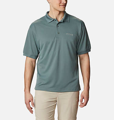 Men's PFG Perfect Cast™ Polo Shirt - Tall Perfect Cast™ Polo Shirt | 469 | 5XT, Pond, front